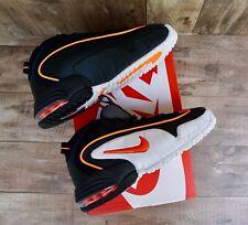 aac290bce Tenis Nike Air Max Penny le (gs) Calzado De Baloncesto Negro Naranja-Blanco  Niños Mujer