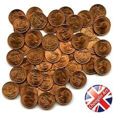 A set of (x50) 1967 British ELIZABETH II HALFPENNY Coins (UNCIRCULATED)