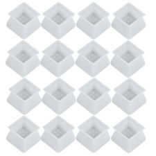 32pcs Silicon Furniture Leg Cover Pad Table Chair Feet Floor Protector Cap AU