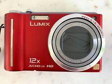 Panasonic LUMIX DMC-ZS3 10.1MP Digital Camera - Red