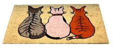 Bruce Starke Coir Mat Vico Cats Assorted 45 X 75cm