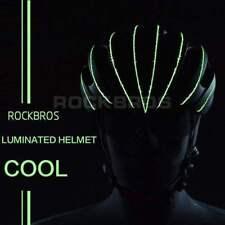 RockBros Leuchtender Fahrradhelm PC EPS 57cm-62cm Reflektierend Mit Visier