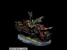 Warhammer 40k or Warpath Ork Warboss Nob Warbike Blitzbike Commission Bike SVC