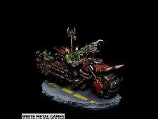 Warhammer 40k or Warpath Ork Warboss Nob Warbike Blitzbike Commission Bike SVC