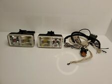 Rare PIAA PF613 PF614 Fog Driving Lights Set Twin Bulb Yellow Clear Japan