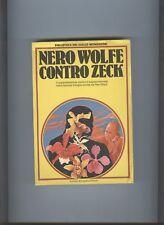 Rex Stout - NERO WOLFE CONTRO ZECK - Mondadori Biblioteca del Giallo 1981