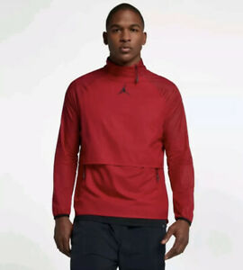 Nike Jordan 23 Tech Men's Training Pullover Jacket Medium Red Black Gym