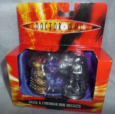 Dr/Doctor Who Dalek & Cyberman Mini Diecast Pack