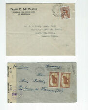 ARGENTINA-COVERS-(7)-OLDER--EXTERNAL USE--USED-FINE-NICE FRANKING-#160