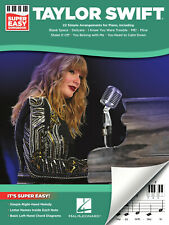 Taylor Swift - Super Easy Piano Songbook (Super Easy Songbook)