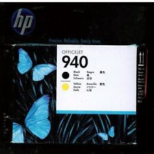HP Officejet 940 C4900A Black & Yellow Print Head