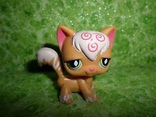 Littlest Pet Shop Orange Angora Cat with Green Diamond Eyes #511
