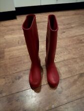 Polar Pink Riding Wellies Size 4 Hunter Style