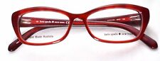 Kate Spade Catalina 0FN1 Red Havana Eyeglass/Glasses Frames 51-14-135 >NEW<
