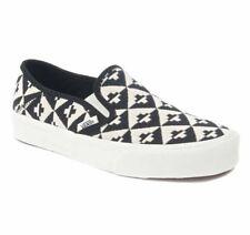 Vans Slip On SF Geo Checkers Black/White UltraCush Womens Size 9