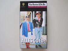 VAN KOOTEN & DE BIE - ALLES GOED? - VHS