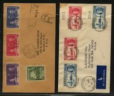 Dominica and Grenada Peace stamps covers Ms0316