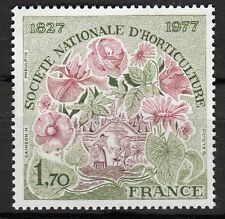FRANCE TIMBRE NEUF  N° 1930 ** 150° ANNIVERSAIRE SOCIETE D HORTICULTURE