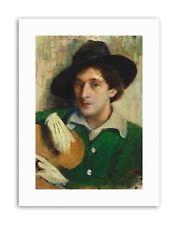 Penna Ist Marc Chagall dipinto Ritratto STAMPE SU TELA ART