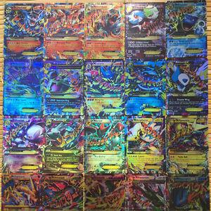 Pokémon Mixed CARD All MEGA 20 Pcs Flash Cards EX Charizard Venusaur Blastoise