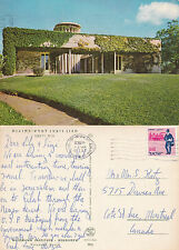 1967 WEIZMANN INSTITUTE OF SCIENCE REHOVOT ISRAEL COLOUR POSTCARD