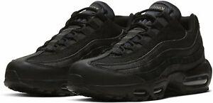 Nike Air Max 95 Essential SZ 10 Black Black Dark Grey CI3705-001