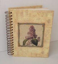 200cp Viola Vintage Uccello Gabbia Shabby Chic Stile 200 PHOTO ALBUM Slip Case