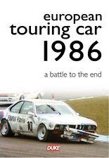 ETCC - European Touring Car Championship 1986 (New DVD) Walkinshaw Percy Hulme