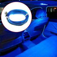 2M Blue 12V LED Car Auto Interior Decorative Atmosphere Wire Strip Light Lamp YN