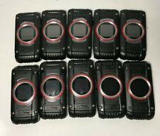 Lot of 10 Verizon G'Zone Ravine 2 C781 Rugged Water-Resistant Flip Phone Black