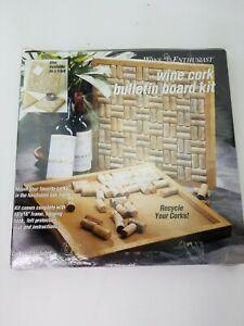 "Wine Enthusiast Wine Cork Board 16"" X 16"" H2"