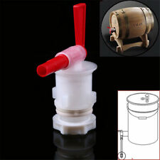New listing Plastic Home Brewing Bottle Spigot Tap Faucet Fermentation Beer Making Bucket Ls