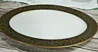 "Vintage Fine China 14 1/8"" Long Oval Platter Richelieu Pattern by Sango Japan"