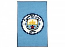 MANCHESTER CITY  FC  Football Club Large Crest Design Rug bedroom  XMAS GIFT