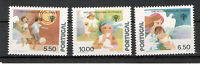PORTUGAL-3 MNH STAMPS-YEAR OF THE CHILDREN-1979.