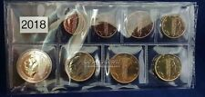 Nederland 2018 serie 1 cent t/m 2 euro UNC