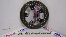 Disco freno posteriore Rear brake rotor Suzuki SV 1000 S 03 07