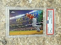 2016 Topps Chrome Perspectives Mike Trout #PC-16 PSA 9 Los Angeles Angels Card