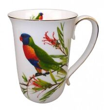 Fine Bone China Lorikeet Coffee .. Tea .. Cup / Mug  - Australian Bird Series