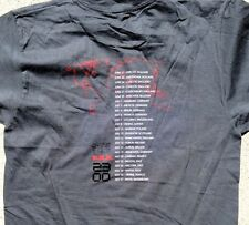 R.E.M. 2003 Concert Tour Gray Tee Shirt Size Small American Apparel NEW