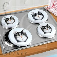 FELIX CAT DESIGN COOKER HOB COVERS. Electric hob plate cover. CAT Lover Kitchen