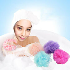 5PCS Bath/Shower Body Exfoliate Puff Sponge Mesh Net Ball Random Color Selling