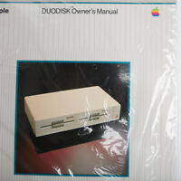 Vintage APPLE DUODISK Owners Manual Sealed