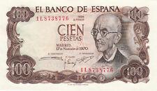 Billet banque ESPAGNE SPAIN ESPANA 100 PTS 1970 neuf new unc 776