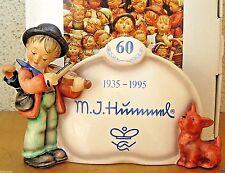 "GOEBEL HUMMEL FIGURINE ""PUPPY LOVE PLAQUE"" HUM 767 TMK7 SPECIAL EDITION MIB G836"
