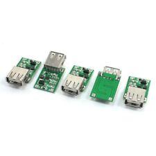 5 pzs 0.9V a 5V DC-DC conversor USB conexion Modulo de impulso aumentado 600mA V