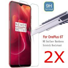2X For OnePlus 6T Tempered Glass LCD Screen Protector Film Guard