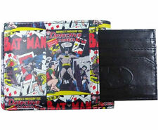 OFFICIAL BATMAN COMIC COVER PRINT WALLET WITH BATMAN CARD HOLDER *BRAND NEW*