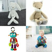 Baby Crib Stroller Playmat Gym Bunny Rabbit Soft Soothing Toy Doll Animals 0+