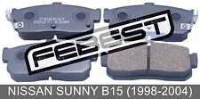 Pad Kit, Disc Brake, Rear For Nissan Sunny B15 (1998-2004)